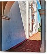 San Luis Rey Courtyard Canvas Print