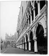 San Marco Square In Venice Canvas Print