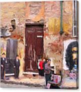 San Telmo Souvenir Canvas Print