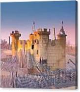 Sand Castle Canvas Print