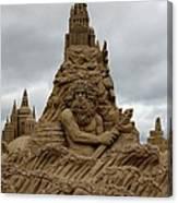 Sand Castles Canvas Print