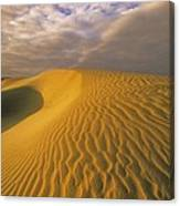 Sand Dune And Sky Canvas Print