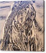 Sand Painting 55 Canvas Print