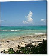 Sandals Cay Canvas Print