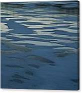 Sandbars Make A Pattern In A Body Canvas Print