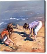 Sandcastles Canvas Print