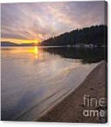 Sanders Sunset Canvas Print