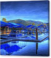 Sandpoint Marina And Power House 1 Canvas Print
