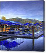 Sandpoint Marina And Power House 2 Canvas Print