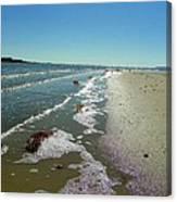 Sandsplit Beach Lowtide Canvas Print