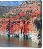 Sandstone And The Sea Canvas Print