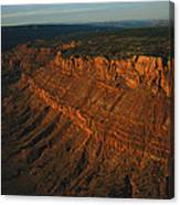Sandstone-capped Escarpment Canvas Print