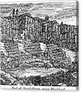 Sandstone Quarry, 1840 Canvas Print
