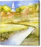 Sandwich Marsh Canvas Print