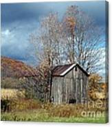 Sandwiched Shed Canvas Print