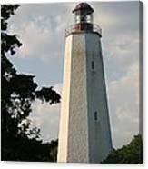 Sandy Hook Lighthouse Canvas Print