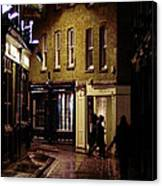 Sandys Row Sw1 Canvas Print