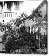 Santa Barbara Courthouse Canvas Print