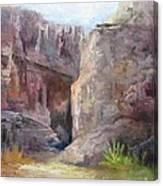 Santa Elena Canyon Big Bend Canvas Print