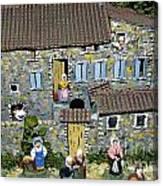 Santons. Provence Canvas Print