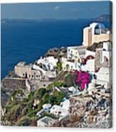 Santorini Lifestyle Canvas Print