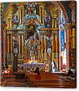 Santuario Mariano Interior Canvas Print