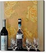 Sara Beth's Wine Rack Canvas Print