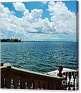 Sarasota Bay In Florida Canvas Print