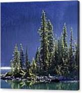 Sargents Point, Lake Ohara, Yoho Canvas Print