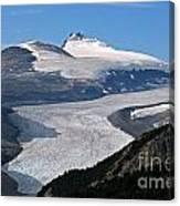 Saskatchewan Glacier Banff National Park Canvas Print