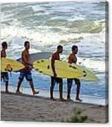 Satelite Beach Canvas Print