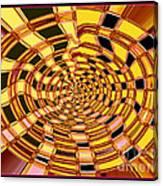 Satin Ribbons Abstract Canvas Print