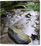 Satus Creek In Autumn Canvas Print