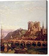 Saumur -  By The Loire Valley  Canvas Print