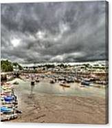 Saundersfoot Harbour Canvas Print