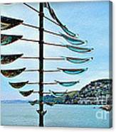 Sausalito Coast Canvas Print