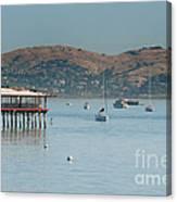Sausalito Harbour Canvas Print