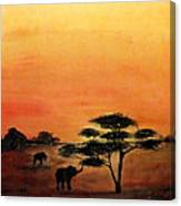 Savana Canvas Print