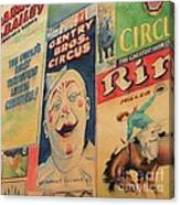Sawdust And Greasepaint 2 Canvas Print