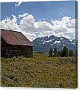 Sawtooth Cabin  Canvas Print