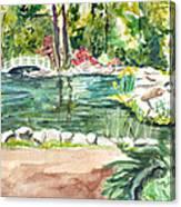 Sayen Pond Canvas Print