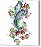 Scandinavian Flower I Canvas Print