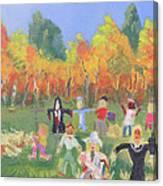 Scarecrow Contest Canvas Print