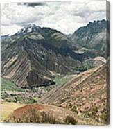 Scared Valley II Canvas Print