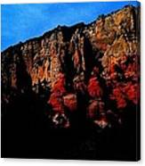 Scarlet Cliffs Canvas Print