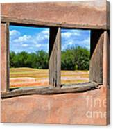Scene From A Priests Window Canvas Print