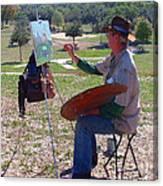 Scenery Artist Canvas Print