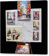 Scenes Of Paris For Sale Canvas Print