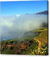 Scenic Pacific Coast Canvas Print