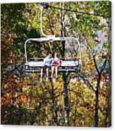 Scenic Ride Canvas Print